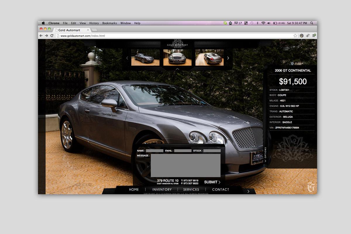 Ryan j armstrong for Motor car portfolio site inventory